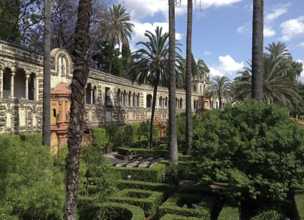 کاخ Alcazar، سویا