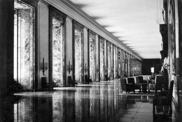 کاخ ریاست جمهوری آلمان، گالری مرمر، 1939