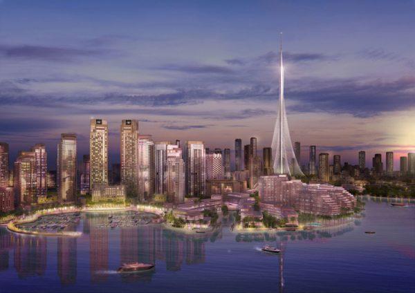 بلندترین برج جهان در دوبی؛ اثر جدید سانتیاگو کالاتراوا