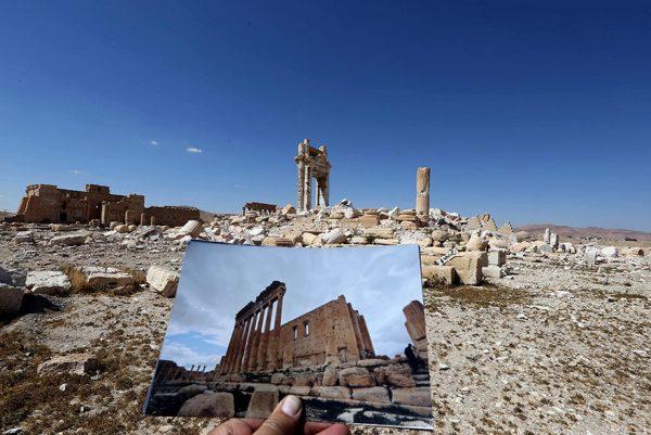سوریه و نابودی میراث عظیم تاریخی و فرهنگی؛ پالمیرا
