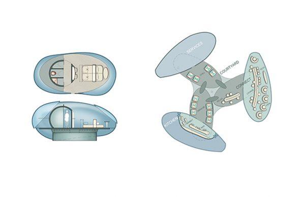 هتل های هوایی با قابلیت پرواز و فرود؛ Driftscape